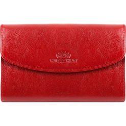 Portfel 21-1-045-3. Czerwone portfele damskie Wittchen. Za 179,00 zł.