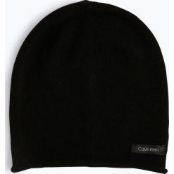 Calvin Klein Womenswear - Czapka damska z dodatkiem kaszmiru, czarny. Czarne czapki damskie Calvin Klein Womenswear, z kaszmiru. Za 269,95 zł.