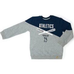 Bluza w kolorze szarym. Szare bluzy chłopięce marki Street Monkey, z bawełny. W wyprzedaży za 49,95 zł.