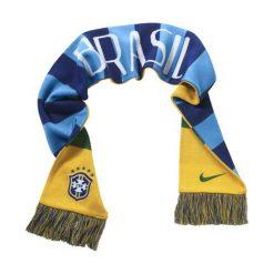 Szaliki męskie: Nike Szalik unisex supporters scarf brazil niebiesko-żółty (608867 703)