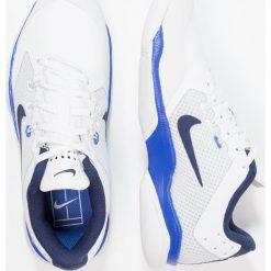 Buty do tenisu damskie: Nike Performance AIR ZOOM ULTRA CPT Obuwie do tenisa Indoor white/binary blue/mega blue