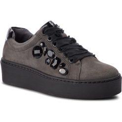 Sneakersy TAMARIS - 1-23702-31 Graphite/Black 208. Szare sneakersy damskie Tamaris, z materiału. W wyprzedaży za 259,00 zł.