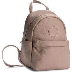 Plecak CREOLE - K10393 Pudrowy Róż. Czarne plecaki damskie marki Creole, ze skóry. W wyprzedaży za 189,00 zł.