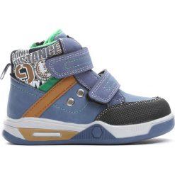 Niebieskie Buty Sportowe The House. Niebieskie buty sportowe chłopięce Born2be, z materiału, z okrągłym noskiem. Za 79,99 zł.