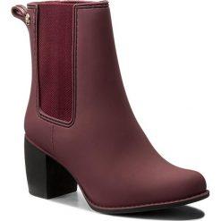 Kalosze GIOSEPPO - Belford 37381-19 Burgundy. Czerwone buty zimowe damskie Gioseppo, z materiału. W wyprzedaży za 179,00 zł.