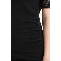 Długie sukienki: Bluebelle Maternity INSERT BODYCON DRESS Długa sukienka black