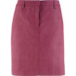 Spódniczki: Spódnica bonprix czerwony rododendron melanż