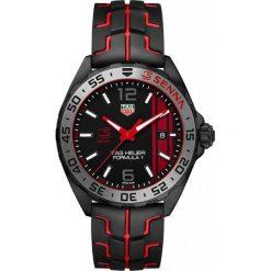 ZEGAREK TAG HEUER FORMULA 1 SENNA WAZ1014.FT8027. Czarne zegarki męskie marki KALENJI, ze stali. Za 5890,00 zł.