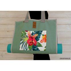 Torba na akcesoria do jogi/ Hawai. Szare torebki klasyczne damskie Pakamera, z tkaniny, duże. Za 239,00 zł.