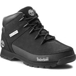 Trapery TIMBERLAND - Euro Sprint 6361R/TB06361R0011 Black. Czarne timberki męskie marki Timberland, z gumy. W wyprzedaży za 489,00 zł.