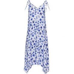 Sukienki: Sukienka bonprix niebiesko - biały