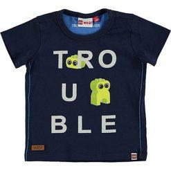 """T-shirty chłopięce z nadrukiem: Koszulka """"Texas"""" w kolorze granatowym"""