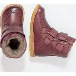 Bisgaard Botki plume. Fioletowe buty zimowe damskie Bisgaard, z materiału. W wyprzedaży za 419,25 zł.