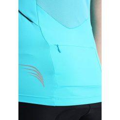 Gore Bike Wear LADY TRIKOT Koszulka sportowa scuba blue. Niebieskie t-shirty damskie Gore Bike Wear, z poliesteru. W wyprzedaży za 194,35 zł.