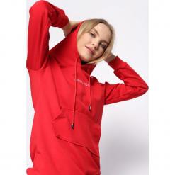 Czerwona Bluza Faction. Czerwone bluzy rozpinane damskie Born2be, l, z kapturem. Za 79,99 zł.