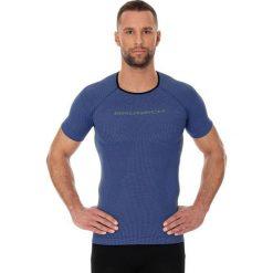 Brubeck Koszulka męska 3D Run PRO z krótkim rękawem ciemnoniebieski r. S (SS11920). Niebieskie koszulki sportowe męskie Brubeck, m, z krótkim rękawem. Za 94,99 zł.