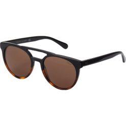 Polo Ralph Lauren Okulary przeciwsłoneczne black. Czarne okulary przeciwsłoneczne męskie aviatory Polo Ralph Lauren. Za 629,00 zł.