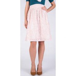 SPÓDNICA PINK FLOWER QUIOSQUE. Czerwone spódniczki dziewczęce z falbankami QUIOSQUE, z tkaniny. W wyprzedaży za 49,99 zł.