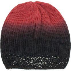 Czapka damska  Świecące cienie czarna. Czarne czapki zimowe damskie marki Art of Polo. Za 37,60 zł.