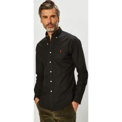 Polo Ralph Lauren - Koszula. Brązowe koszule męskie na spinki marki Polo Ralph Lauren, l, z bawełny, button down, z długim rękawem. Za 429,90 zł.