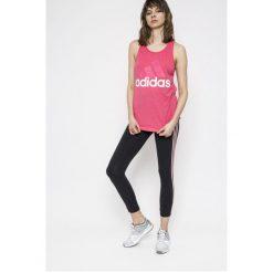 Adidas Performance - Legginsy. Czerwone legginsy marki adidas Performance, m. Za 139,90 zł.
