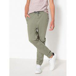 Spodnie dresowe, 10-16 lat. Brązowe spodnie chłopięce La Redoute Collections, z bawełny. Za 111,68 zł.