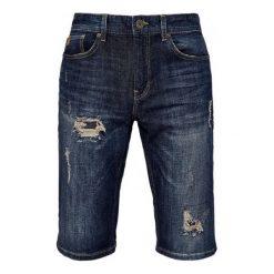 S.Oliver Szorty Męskie 30 Ciemny Niebieski. Niebieskie szorty męskie marki Oakley, na lato, z bawełny, eleganckie. W wyprzedaży za 169,00 zł.