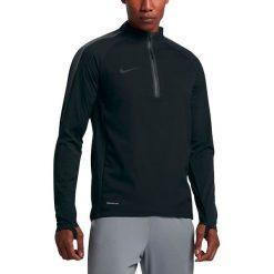 Nike Bluza męska Aerolayer Repel Strike Football Drill czarna r. M (807030 010). Czarne koszulki do piłki nożnej męskie Nike, m. Za 362,39 zł.