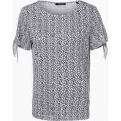 Opus - T-shirt damski – Sadie, niebieski. Niebieskie t-shirty damskie Opus, w kwiaty. Za 89,95 zł.