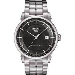 RABAT ZEGAREK TISSOT T-CLASSIC T086.407.11.061.00. Czarne zegarki męskie TISSOT, ze stali. W wyprzedaży za 2596,00 zł.