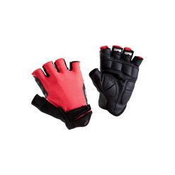 Rękawiczki ROADC 900. Czerwone rękawiczki damskie B'TWIN. Za 49,99 zł.