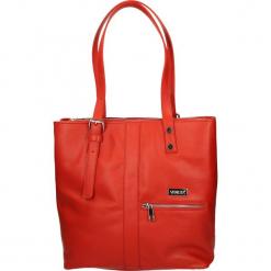 Torba - 90-8694-M D R. Szare torebki klasyczne damskie Venezia, ze skóry. Za 259,00 zł.