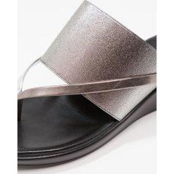 Chodaki damskie: Rapisardi GERMANIA Japonki pewter/silver/pewter ningo