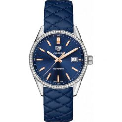ZEGAREK TAG HEUER CARRERA WAR1114.FC6391. Czarne zegarki damskie marki KALENJI, ze stali. Za 16360,00 zł.