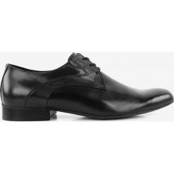 Półbuty czarne Standard. Czarne buty wizytowe męskie Badura. Za 159,99 zł.