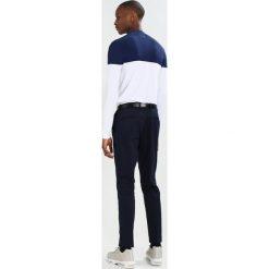 Chinosy męskie: Burton Menswear London SATEEN Spodnie materiałowe navy