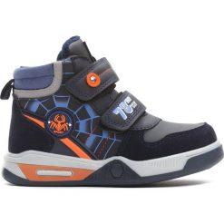 Granatowe Buty Sportowe Monsoon. Niebieskie buty sportowe chłopięce Born2be, z materiału, z okrągłym noskiem, na zamek. Za 69,99 zł.