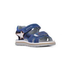 Sandały Dziecko  Nero Giardini  NERO GIARDINI  VELOUR. Niebieskie sandały chłopięce Nero Giardini. Za 295,85 zł.