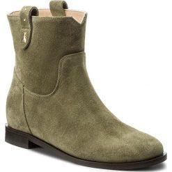Botki PATRIZIA PEPE - 2V7881/A484-G428 Daily Green. Czarne buty zimowe damskie marki Patrizia Pepe, ze skóry. W wyprzedaży za 969,00 zł.