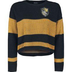 Bluzy damskie: Harry Potter Hufflepuff Bluza damska czarny/żółty