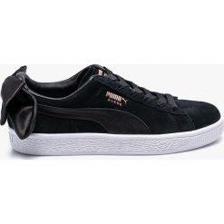 Puma - Buty Suede Bow. Czerwone buty sportowe damskie marki Puma, xl, z materiału. W wyprzedaży za 299,90 zł.