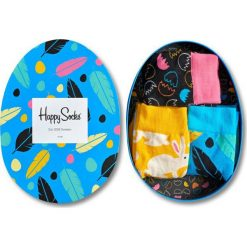 Skarpetki męskie: Happy Socks – Skarpety Easter Gift Box (3-pak)