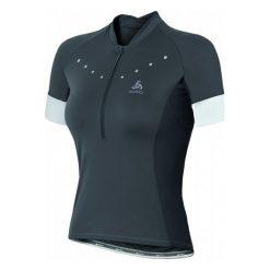 Odlo Koszulka Rowerowa Gavia W Odlo Graphite Grey S. Szare bluzki sportowe damskie Odlo, s, z materiału, z krótkim rękawem. W wyprzedaży za 269,00 zł.