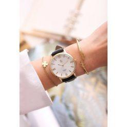 Biżuteria i zegarki: Czarny Zegarek Don't Promise