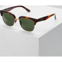 Burberry Okulary przeciwsłoneczne light havana/light gold/green. Brązowe okulary przeciwsłoneczne damskie aviatory Burberry. Za 819,00 zł.
