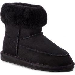 Buty EMU AUSTRALIA - Roma W11791 Black. Czarne buty zimowe damskie marki EMU Australia, ze skóry, na niskim obcasie. Za 649,00 zł.