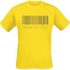 Twenty One Pilots Stacker T-Shirt żółty. Żółte t-shirty męskie marki ATORKA, xs, z elastanu. Za 62,90 zł.