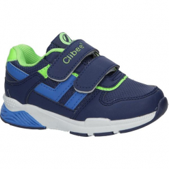 Granatowe buty sportowe na rzepy Casu F-650. Szare buciki niemowlęce Casu, na rzepy. Za 49,99 zł.