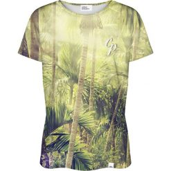 Colour Pleasure Koszulka damska CP-030 272 zielona r. M/L. Zielone bluzki damskie marki Colour pleasure, l. Za 70,35 zł.