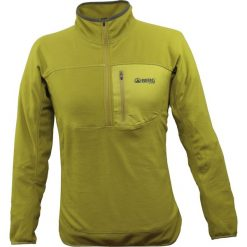 Bejsbolówki męskie: BERG OUTDOOR Bluza męska DHAULAGIRI 1/2 ZIP SWEAT żółta r. M (HK4210503AW14)